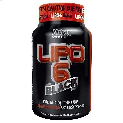 Nutrex Lipo 6 Black es un quemador de grasa llevado a lo extremo de los termogénicos. Su poder de incineración de grasa supera con creces cualquier otro quemador de la competencia, haciendo de él un quemador idóneo para la inicineración masiva de grasa. Lipo-6 Black contiene una fórmula completamente nueva que ataca la grasa corporal de una forma 100% efectiva. lipo6.com.es