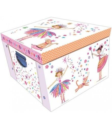 daisy patch fairy large collapsible storage box decorative
