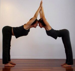 Yoga Two Person PosesTwo