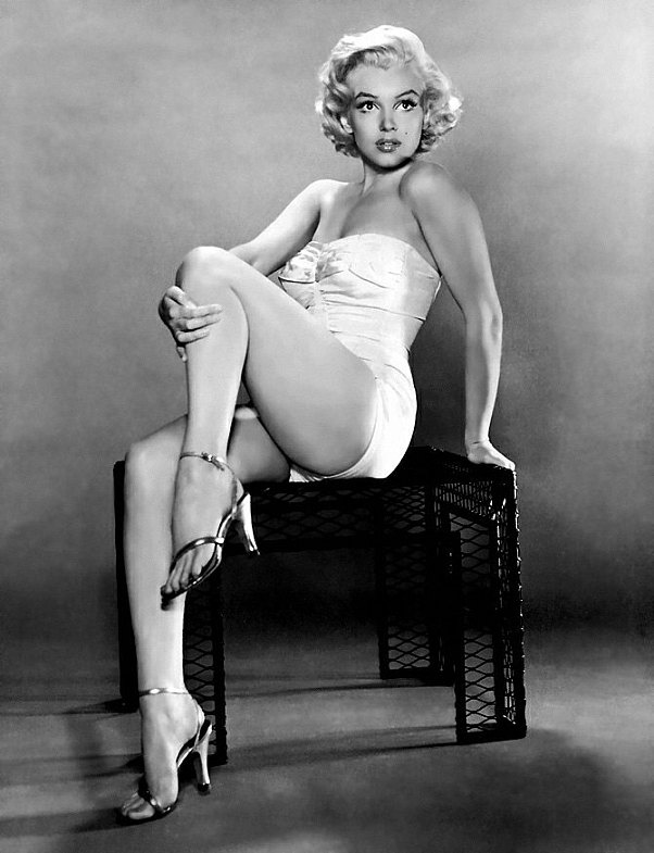 Marilyn Monroe, because of course.