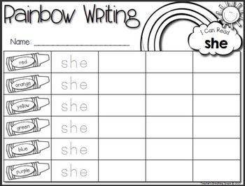 rainbow writing spelling words template - the 25 best rainbow writing ideas on pinterest hard