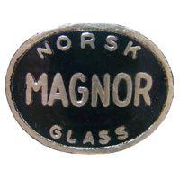Holmegaard Danish glass paper label.