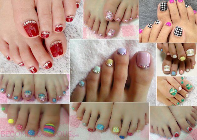 The Trendiest Toe Nail Designs for Summer