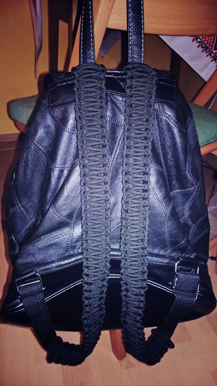 my bag, paracord, cobra