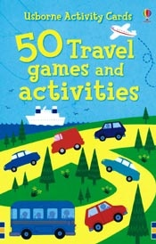 50 Travel Games and Activities Cards only $9.99. LOVE these cards! Great ideas, many that can be adapted for preschoolers to adults! www.PureImaginationBooks.com