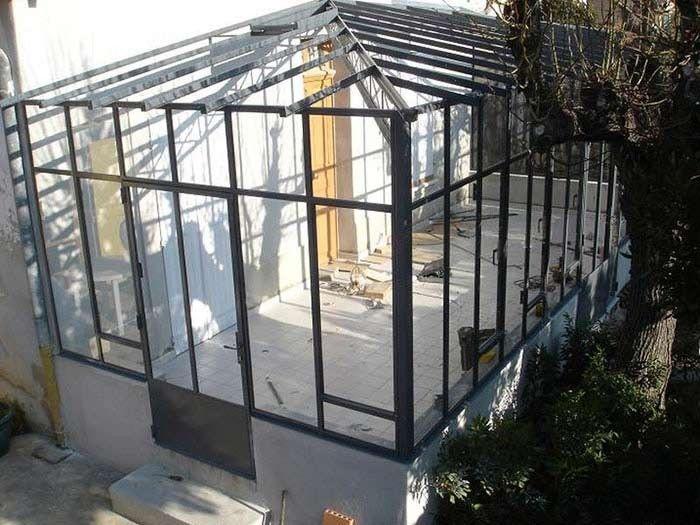 veranda fer ferronnerie sigonneau bouche du rhone ferronnerie pinterest v randas. Black Bedroom Furniture Sets. Home Design Ideas
