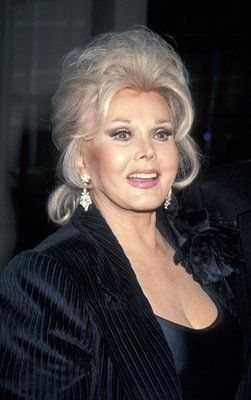 Zsa Zsa Gabor born in February of 1917! Wow! 97 years old in 2014.