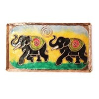 Decorative Wall Pieces,Made In India,Wall Plaque - Elephant