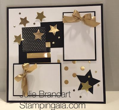 Stampin Gala: JANUARY SCRAPBOOK CLUB