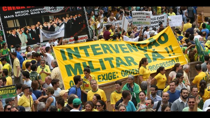 INTERVENÇÃO MILITAR JÁ COMEÇOU NO RIO DE JANEIRO