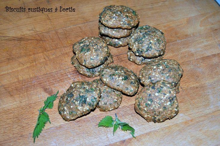 Biscuits rustiques à l'ortie