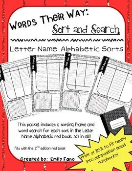 words their way letter name alphabetic book pdf