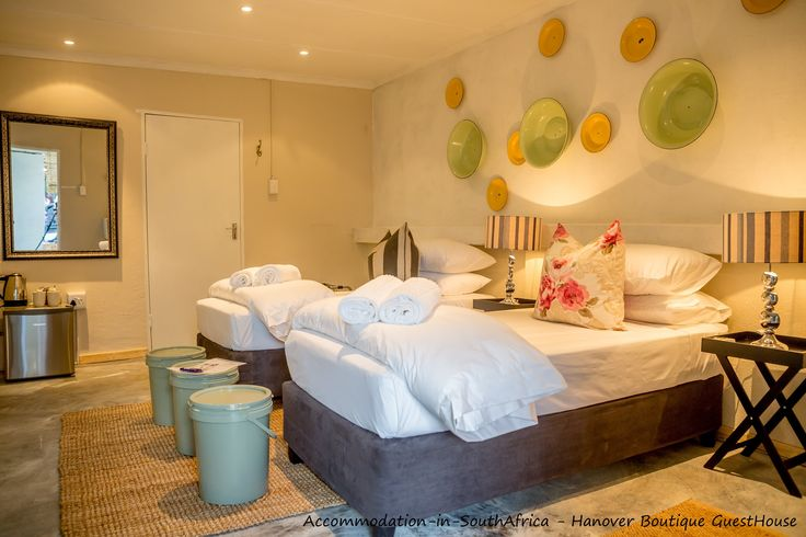 Stylish bedrooms at Hanover Boutique Guesthouse. Hanover Boutique Guesthouse Hanover.