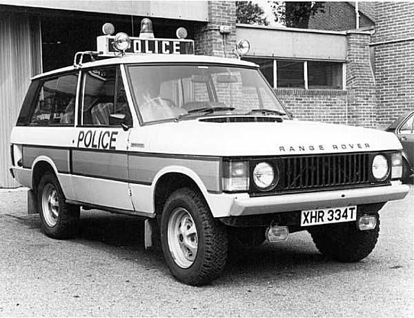 Although earlier Rovers such as the P4 and P5 were certainly used by various police forces, the British Leyland-era,Range Rover, P6 and SD1 became almost synonymous with the term 'jam sandwich', referring to dayglo orange stripe carried by motorway patrol cars.