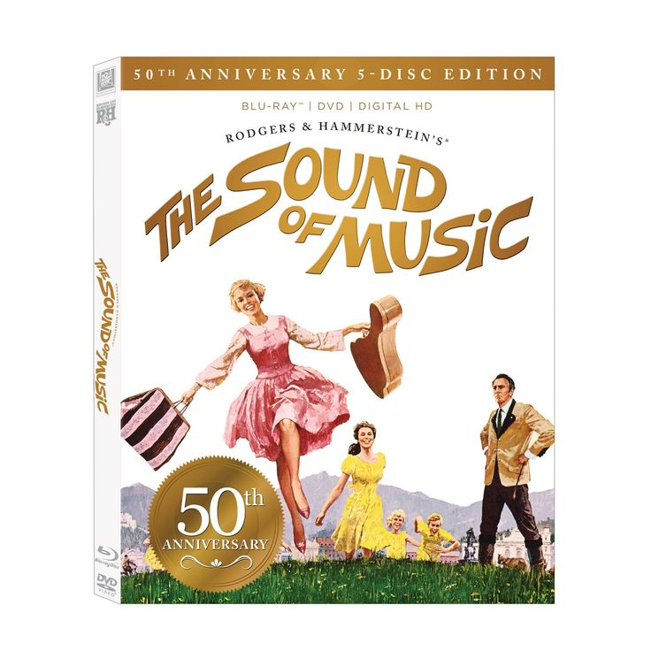 Sound of Music 50th Anniversary Ultimate 5 Disc Collection (Blu-ray/Dvd) (Includes Digital Copy)