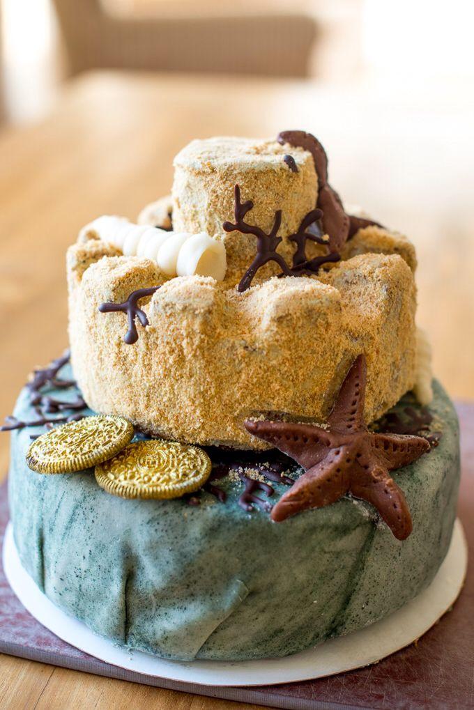 Vegan Sea Cake