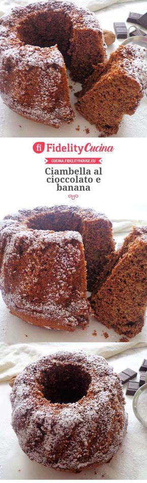 Ciambella al cioccolato e banana