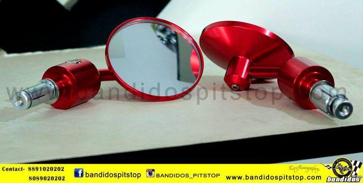 Bike Mirrors....... www.bandidospitstop.com