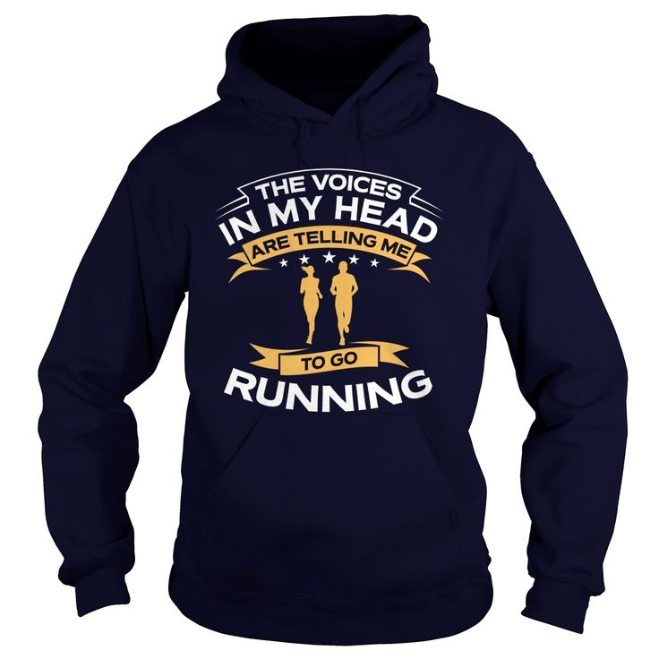 The Voices In My Head Are Telling Me To Go #Running TShirt, Order HERE ==> https://www.sunfrog.com/Sports/124175224-695599694.html?47756, Please tag & share with your friends who would love it, #running quotes, half marathon, marathon gear #turtle #workouts #cooking