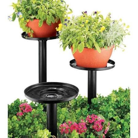 17 best ideas about outdoor plant stands on pinterest plant stands woodworking and all modern - Tiered wooden plant stands outdoor ...