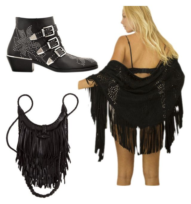 """""""Festival Fringing"""" by foreignhearts on Polyvore featuring Chloé"""