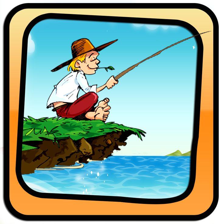 начинающий рыболов с картинками лето