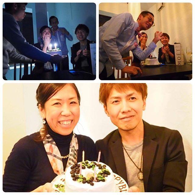 2016/10/31 11:58:49 heartful_yakuin 大阪で体質改善を語る! …からの、 最後にはサプライズが✨  最後暗くなったから、 「こんな感じで終わっていくんだ〜〜」とか思ってたら…  ハッピーバースデーの歌が…! 誕生日だいぶ過ぎてたのにまたお祝いしてもらっちゃいました💕  みなさんありがとうございます^ ^  1週間あっという間に経ってしまいましたが、 10月22日は大阪で体質改善を実践&情報発信されているセラピストの #アミューザー 吉田さんのFacebook公開ライブ動画に出演させていただきました(≧∇≦) わたしたちは一番最後だったのですが、 何人ものゲストがそれぞれ体質改善について語るという面白い企画✨  わたしたちも サロンでやっている体質改善についてや、 実践していく中で辿り着いた考え方など あっっという間ですが お話させていただきました。  ライブ動画ではリアルタイムにいいねがついたのを見れたり、 コメントも見ながらお話できるのでなんか画面の向こう側とつながっている感じ^ ^  お水についての質問などもでていまししたよー。…