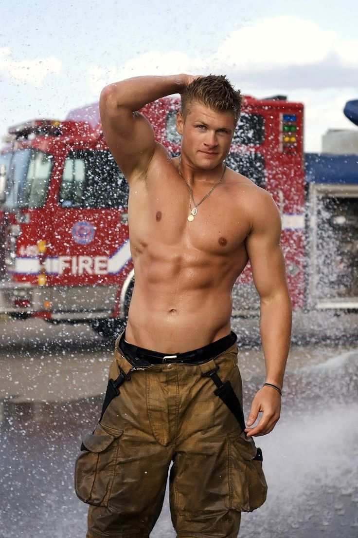 sexy fireman | Homotrophy | Sexy gay blog | Hot Men | Male Models | Fashion