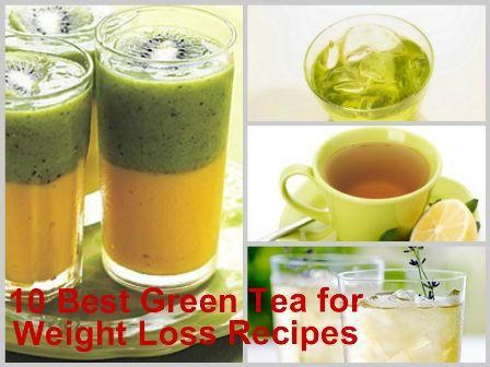 10 Best Green Tea for Weight Loss Recipes