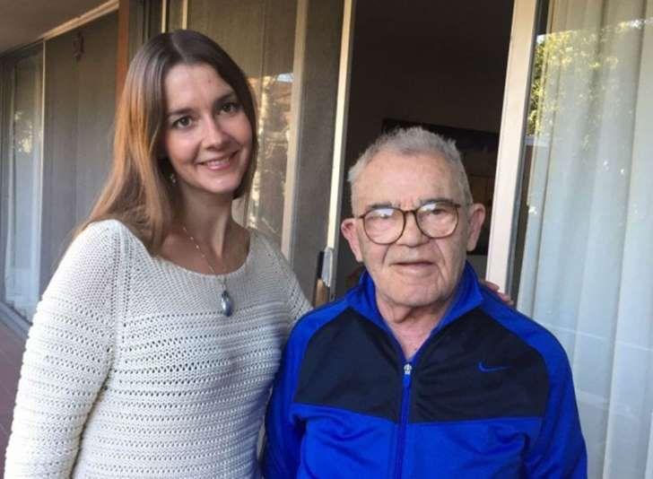 Una #Historía del #HolocaustoJudio de los #NAZI que ha llegado al presente: Lea Heitfeld y Ben Stern, en la casa que comparten en #California #USA (foto: Lea Heitfeld)