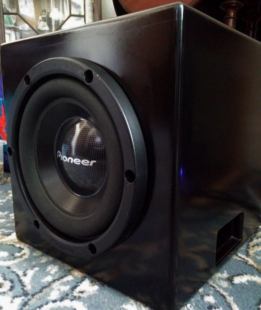 Home subwoofer design