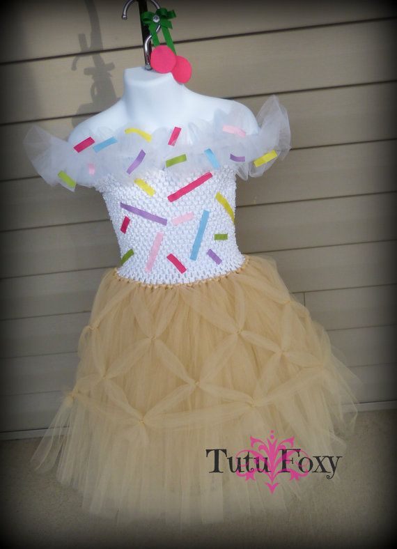Ice Cream Tutu Dress, Icecream Tutu Dress, Ice Cream Birthday Outfit, Ice Cream…