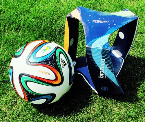 New 2014 #world cup fifa #brazuca official #match ball soccer football size5 in b,  View more on the LINK: 	http://www.zeppy.io/product/gb/2/141461926933/