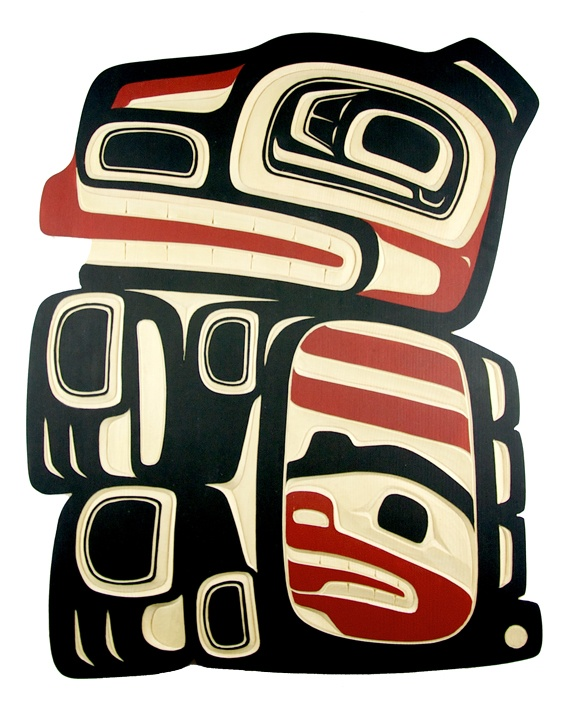 * * * tlingit bear - link to page explaining tlingit iconography