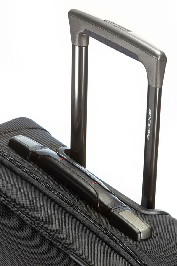 The case has a padded top handle for comfort when carrying it.