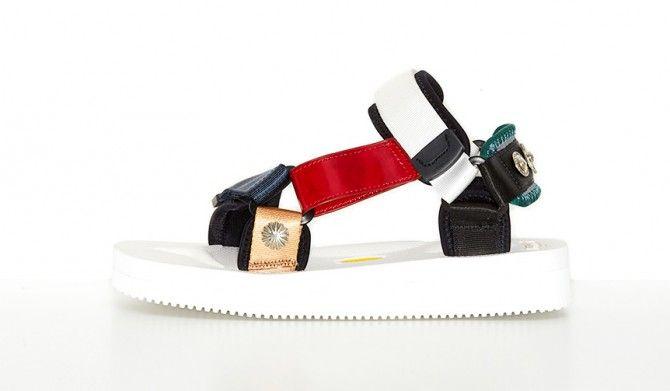 足への負担を軽減させるSUICOKE x TOGA コラボレーションサンダル発売TOGA