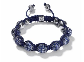 Sapphire and white gold from Shamballa