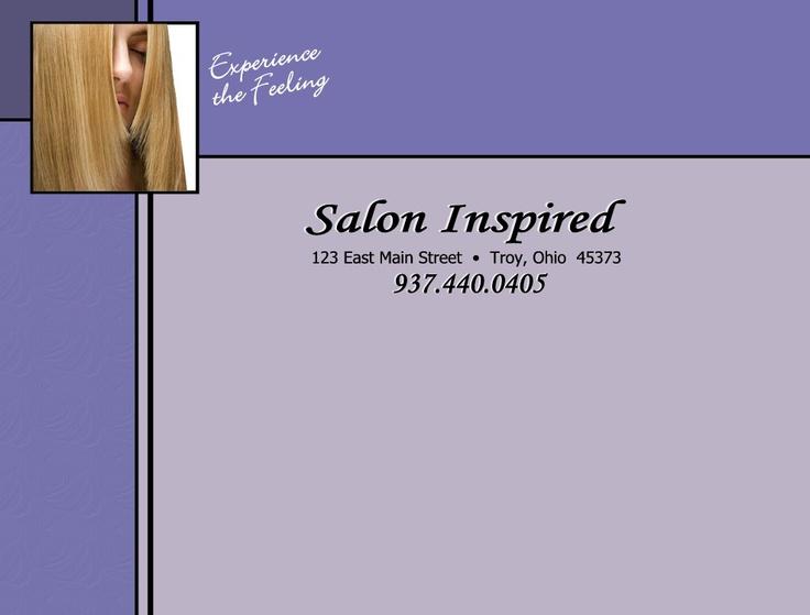 Salon Inspired  Shop 3, Wellington Way   Strathfieldsaye, Bendigo  03 5439 5807