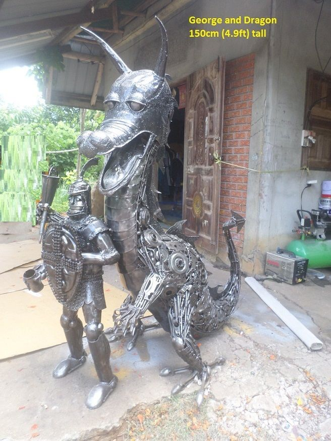 Best Welding Art Images On Pinterest Scrap Metal Art Welding - Artist creates incredible sculptures welding together old farming equipment