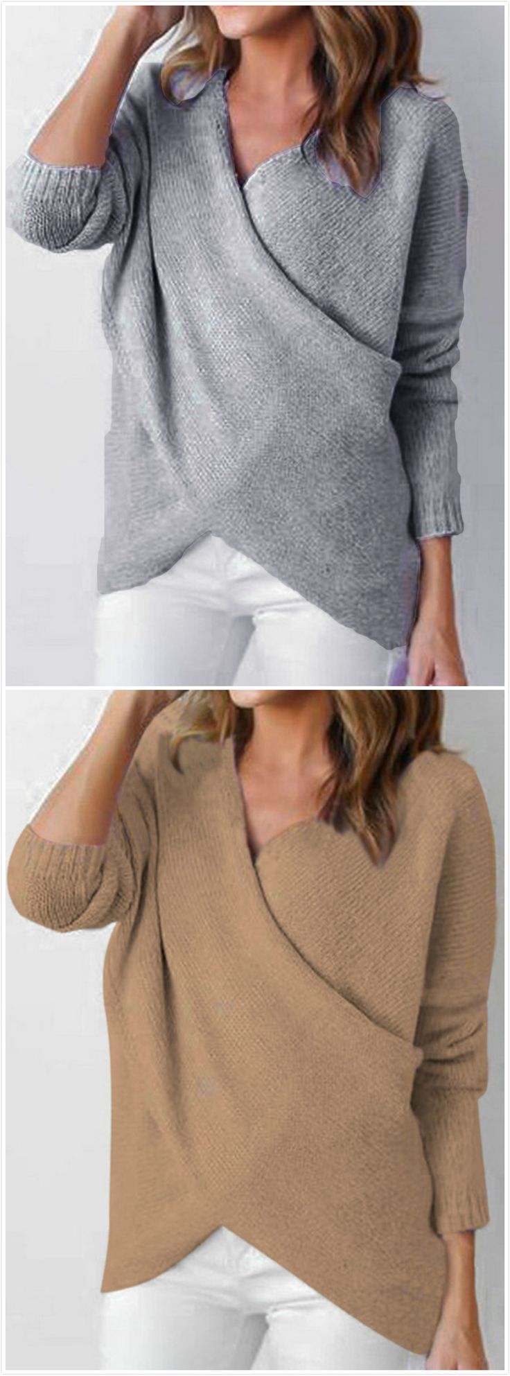 1116 Best Style Images On Pinterest Feminine Fashion For Women Mooi Printing Premium Sweater Top Garden Bunny L V Neck Long Sleeve Solid Splicing Pullover Novashecom