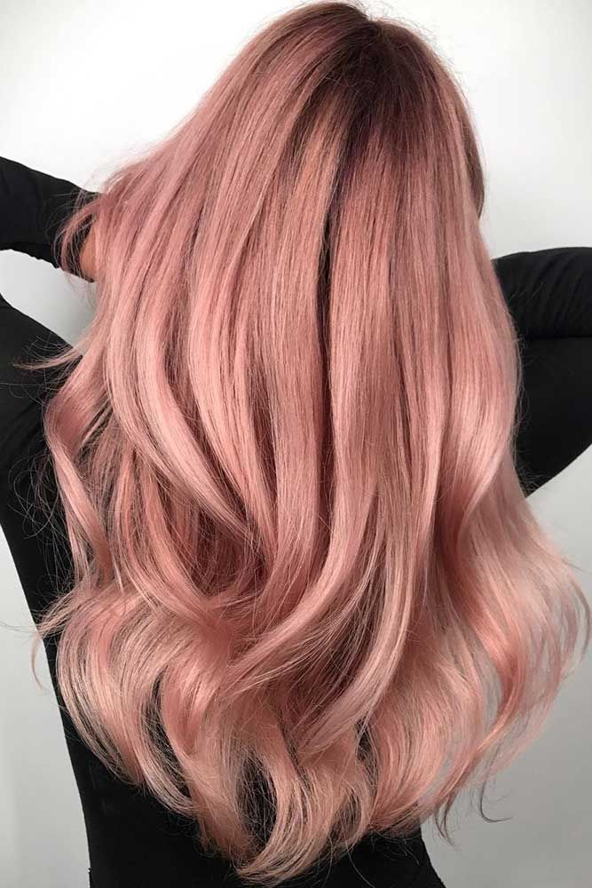 and rose gold