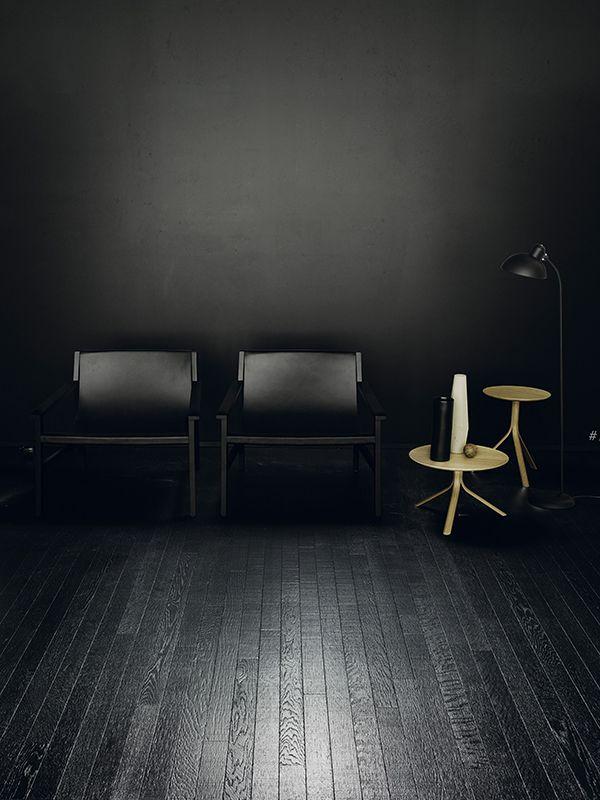 """Dark Interior"" by http://www.leuchtend-grau.de/  Kerakoll Design House"