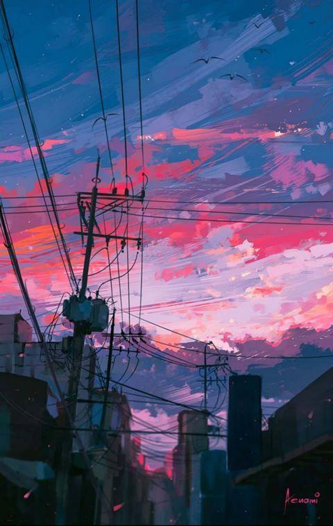Anime Aesthetic Landscape - Anime Wallpaper