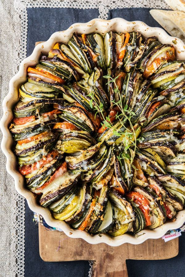 Sunday Supper :: 01.04.15 :: Vegetable Tian