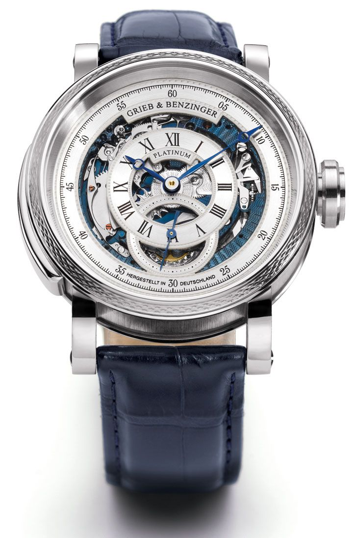 Grieb & Benzinger Blue Whirlwind Tourbillon Minute Repeater