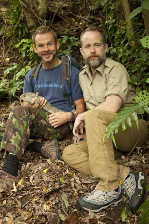 Billy on Wild Things with Dominic Monaghan!