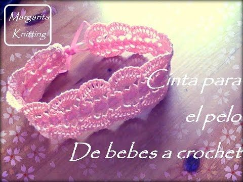 Diademas Tejidas a Crochet Vinchas y Cintillos Diademas de flores Manualidades Fáciles Pintura Facil - YouTube
