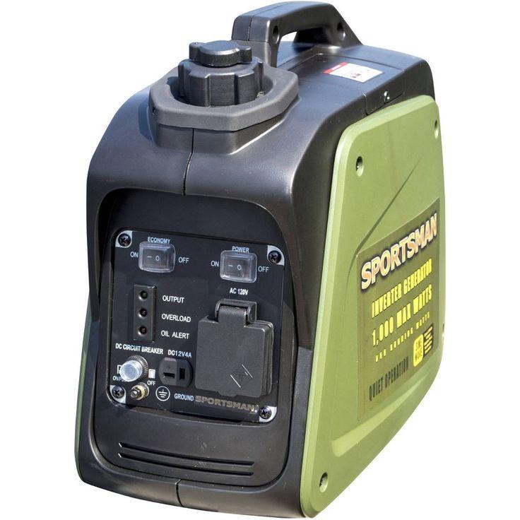 Portable Power Generator Sportsman Camping 1000 Watt Inverter Gas Powered Power. #Sportsman