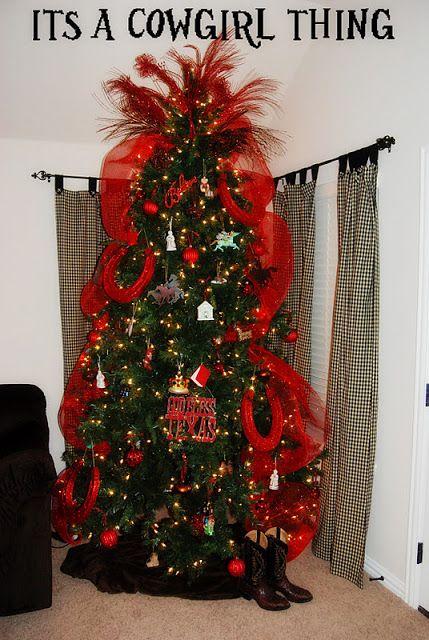 2013 Countdown to Christmas: Western Christmas Tree Ideas #bemorefestive @Penn Foster
