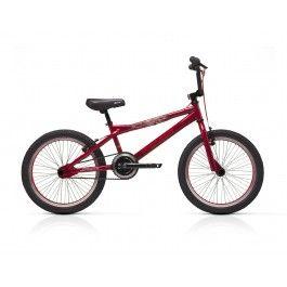 "Bicicleta Conor Skull 2014 Bicicleta Conor Skull Negro .    Serie: Bicicleta BMX Cuadro: BMX 20"" Hi-Ten Dirección: A-head Neco Horquilla: BMX 20"" HI-ten Platos: BMX 40 T 175mm Piñón: Free 16T Manetas: Aluminio Tektro Frenos: Aluminio Tektro Ruedas: Llantas aluminio BMX 20"" Bujes: KT-11 48H (Del 100mmx165mmx14mm) Cubiertas: CST 20X1,95 Manillar: BMX series Potencia: Bmx series http://www.bicicentral.com/conor-skull-rojo.html"